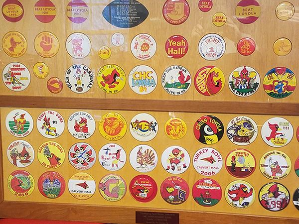 Calvert Hall Football Spirit Buttons