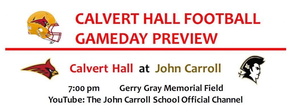 Calvert Hall Football Gameday Preview 2021-08-27